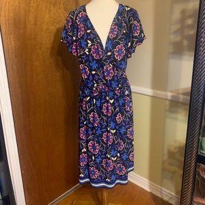 London Style Woman Floral Plus Dress 20